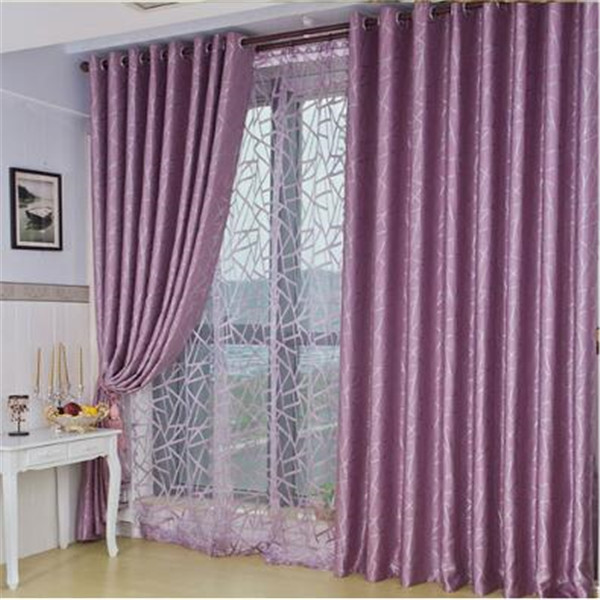 black out polyester fabric eyelet curtain for home hotel cafe office