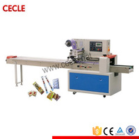 cheap price automatic pillow lollipop candy wrapping machine for TD-250B
