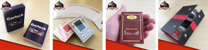 Custom low price plastic playing card with high quality