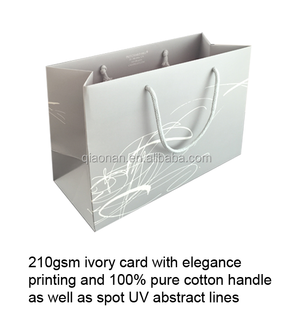 Cheapest Durable 2 Bottles Wine Paper Bag for discount