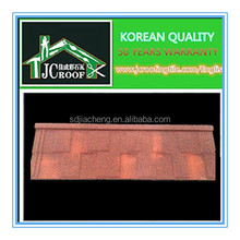 High Quality 0.4mm Certificate Roofing Material And Colorful Stone Coated Steel Roof Tile/metal and steel tile roofing