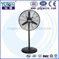 High velocity oscillating Industrial standard fan