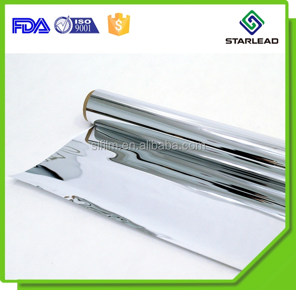 Factory price aluminum metalized bopp film for food bag laminated with pe pet