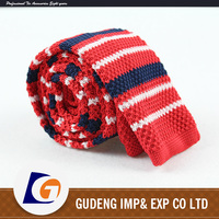 Costom mens polyester knitting ties