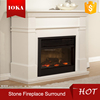 artificial marble fireplace surround