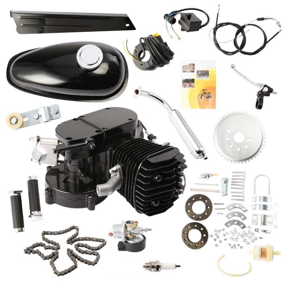 Good quality motorized bicycle engine, motorized bicycle kit gas engine, bicycle gas engine 80cc