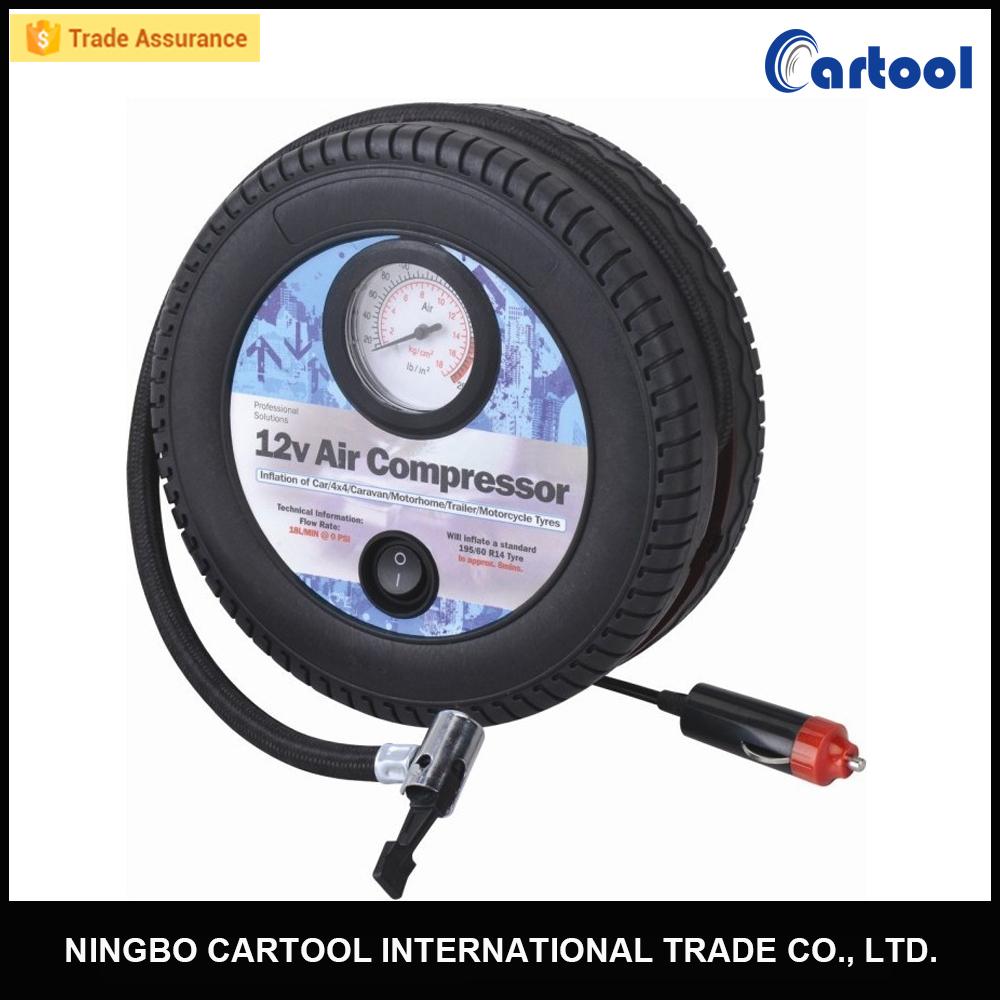 Car tire inflator