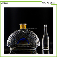 Fancy Glass Beverage Bottles Wholesale Custom Fancy Tequlia European Glass Bottles