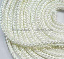 Zhengzhou STA Ceramic fiber glass wick twisted refractory rope in industry sealing