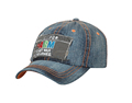 hat machine embroidery manufacturer for fitted cap