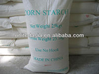 Corn starch for industrial use