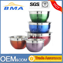Food Grade Stainless Steel Salad Bowl ,Stainless Steel Mixing Bowl Set