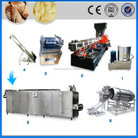 New model frying 3d snack food /pani puri /golgappa/fryum manufacturing machine