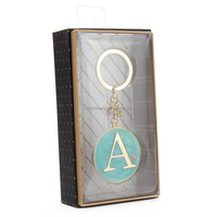 Metal Keychain Letter Key Ring Customized Keychain