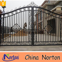decorative iron fence metal gate designs NTIRG-066S