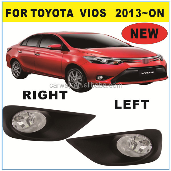 Car Spare Parts Accessories for Toyota Vios 2013 ON Fog Lamp