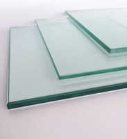 Safety Tempered Glass for Building Curtain Wall Building