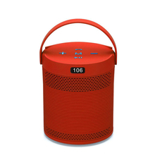 New arrivals 2018 home theatre bt wireless 5w walking mini portable speaker round phone holder speaker