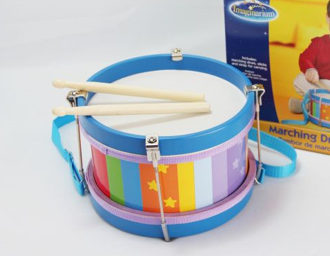 Wooden drum , Wooden toys, Children drum toys