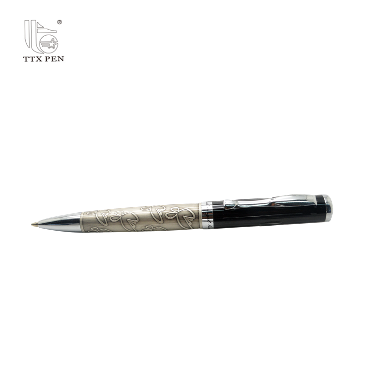 Promotion Products Engraved Designed Metal Ball Point Pen with Competitive Price