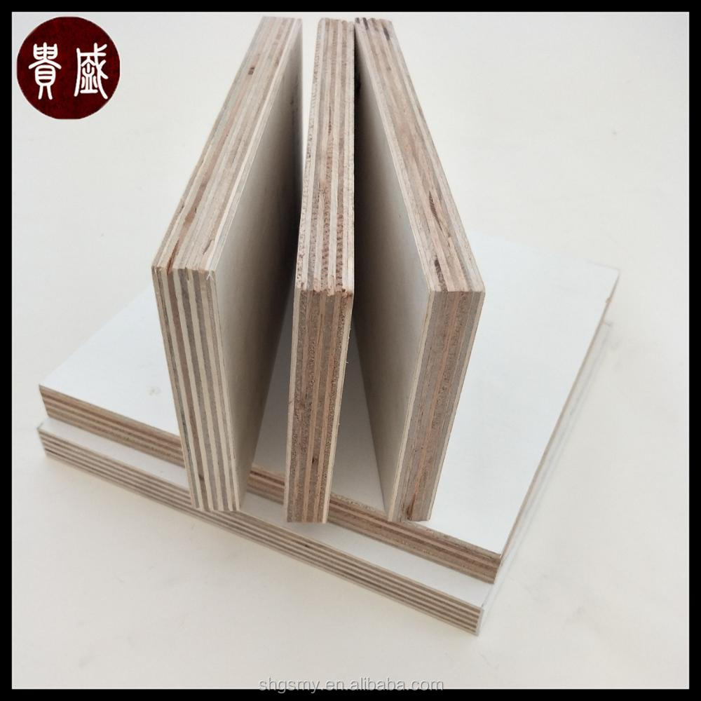 4x8 melamine board/18mm waterproof plywood board with good price
