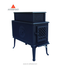 cast iron indoor wood burning cook stove