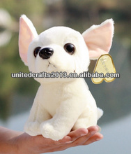 wholesale custom DIY logo print lovely dog stuffed plush toys