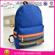 Camping wholesale 2014 trendy cool custom blank canvas outdoor backpack