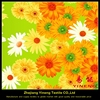 beautiful flower design polyester digital printed lima peru textile bed sheet fabric for home