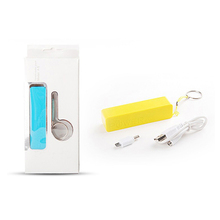 Promotion gift power bank 2600mah cheap factory price