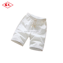 Attractive design chino summer shorts mens chino casual style linen shorts