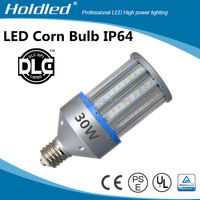 CE ROHS UL DLC 360degree IP64 100-277vac 360 degree Lighting 30W led corn light bulb china ensure 5 years warranty