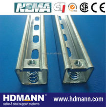 Stainless Steel SS316 C Strut Channel in Wood Box Package (UL China manufacturer)