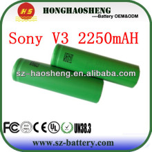 Good quality for Sony 18650V3 2250mAh 18650 battery for Sony Li-ion batteries