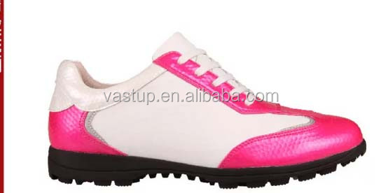 Lastest fashion microfiber golf shoes