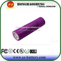 CE ROHS approved 3.7v icr 18650 li-ion rechargeable battery 3000mah