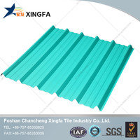 Anti corrosion heat shield thermal insulation roof tiles plastic pvc sheet