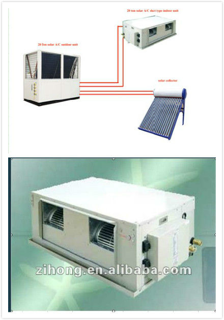 commercial split type floor standing solar air conditioner,wall mounted industrial cabinet air conditioner
