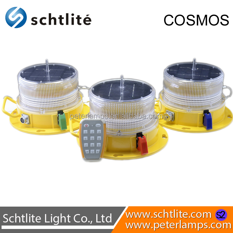 COSMOS.S2 New Arrival Solar Panel OEM Wholesale Waterproof Airport Tower Harbors Factory Aviation Obstruction Light