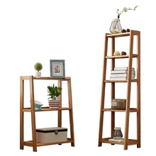 Nordic Solid Wood Oak Natural Walnut Storage Rack Book <strong>Shelf</strong> Book <strong>Shelves</strong>