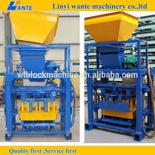 What is the price concrete block machine for sale small manufacturing machines block machine