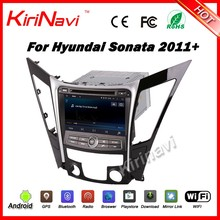 "Kirinavi WC-HS8027 android 5.1 8"" gps radio for double din dvd player for hyundai sonata 2011-2016 car multimedia system 16G ROM"