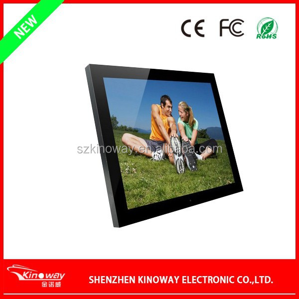 "2015 Christmas New Year Gift! Picture Display MP3 Media Player SD Card 20"" LCD Digital Photo Frame"