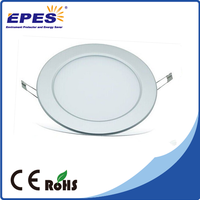 hot product 2015 12W 18W 24W ceiling panel light round led flat panel light