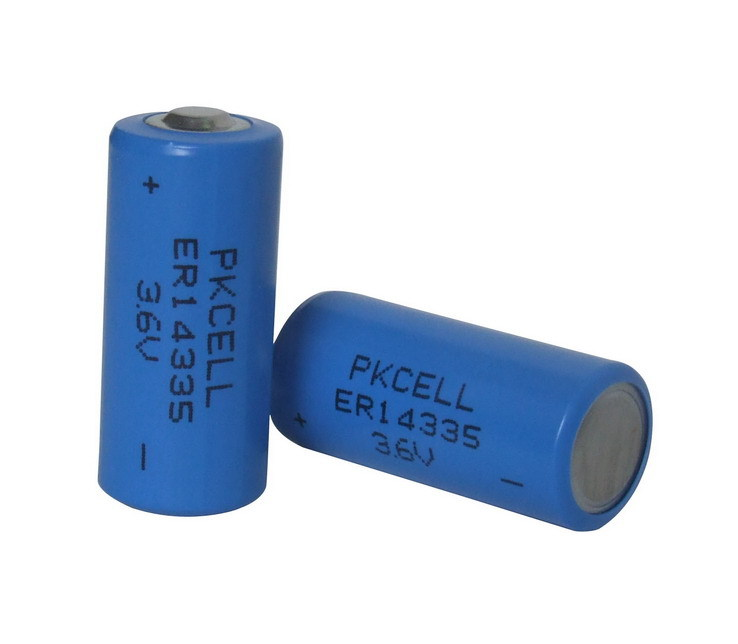 Wholesale PKCELL Hot sale Li-SOCL2 3.6V ER14335 1600mAh Lithium Li-ion Battery