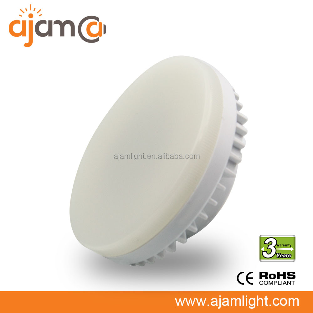 CE Rohs approved 1800k Dimmable gx53 led lights new led lamp gx53 12v