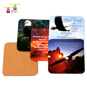 mdf cork backed placemat cork table pad coaster