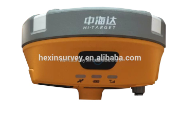 Lower price dual frequency GNSS RTK Hi-target V90 Plus rtk Surveying rtk gps base and rover