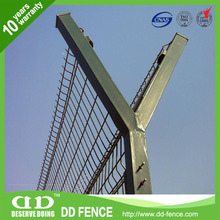 Hottest sale anti-climb security razor toppings /pvc coated airport fence/airport closed private area military areas