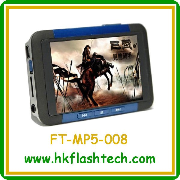 3.5 inch mp5 game player, model FT-MP5-008